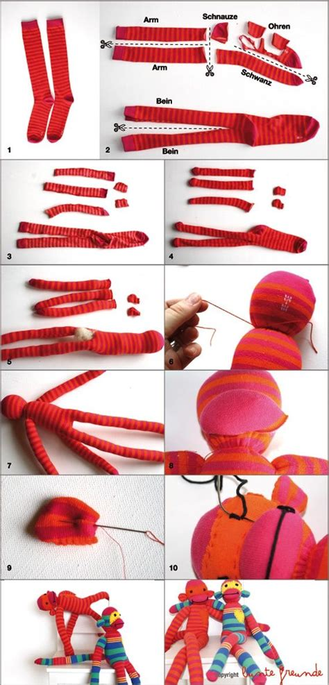sock animals step by step 25 best ideas about sock monkeys on sock monkey crafts sock monkey pattern and