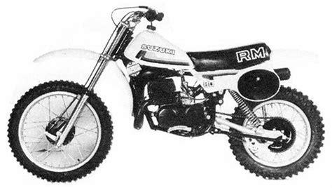 1980 Suzuki Rm80 Suzuki Rm80 Model History