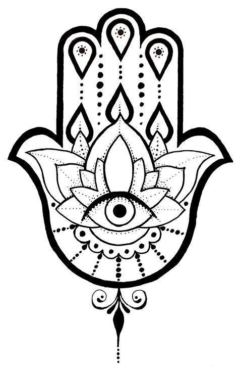 tattoo hamsa designs a hamsa design i created ideas