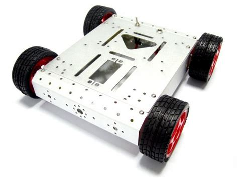 mobile robotics 4wd mobile robot with tracking and avoidance system