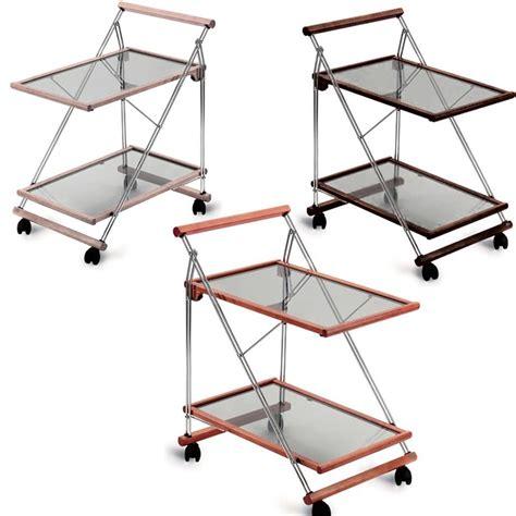 bicchieri richiudibili carrello porta vivande richiudibile struttura in legno