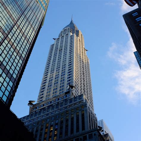 chrysler building skyscraper in new york city thousand