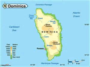 dominica on world map dominica physical map by maps from maps world s largest map store
