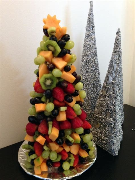 fruit christmas tree fruit salad fruit christmas tree