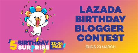 Sweepstake Blogs - lazada birthday blogger contest lokmanamirul com
