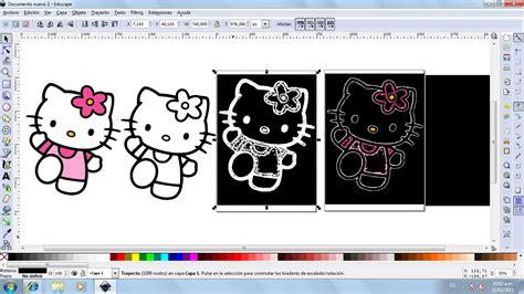 Inkscape Tutorial Hello Kitty | tecnolog 237 a e inform 225 tica corte de iluminosidad inkscape