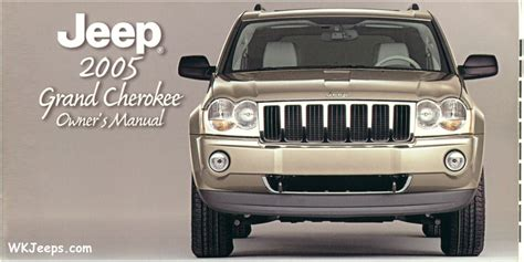 98 jeep owners manual jeep grand wk brochures and manuals