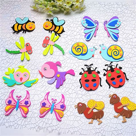 Wall Stiker Sticker Untuk Anak decorative sticker bee butterfly bird dragonfly insects sticker kindergarten adhensive wall