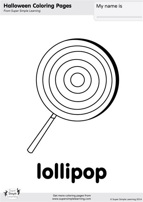 lollipop coloring pages lollipop coloring page simple