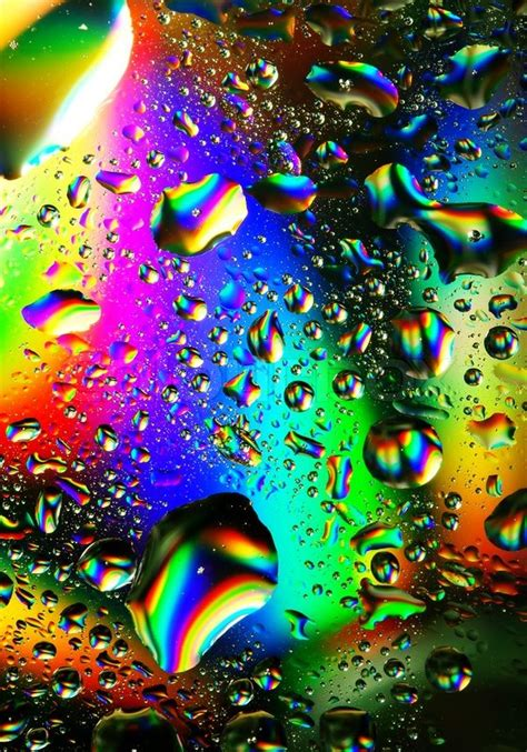 colorful water drops stock photo colourbox
