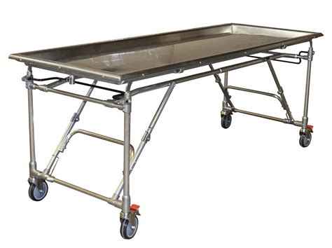 Folding Stainless Steel Table Stainless Steel Folding Embalming Table