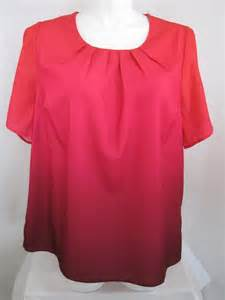 maggie barnes clothing plus size maggie barnes for catherine s plus size dip dyed ombre top