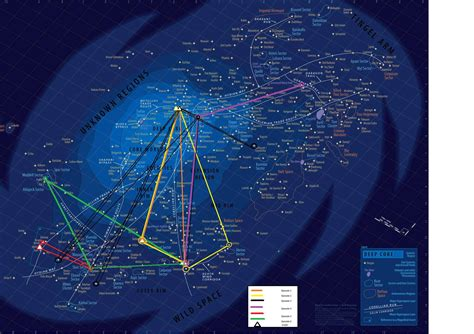 printable star wars galaxy map an epic unbelievably detailed map of the star wars