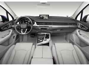 2017 audi q7 interior u s news world report