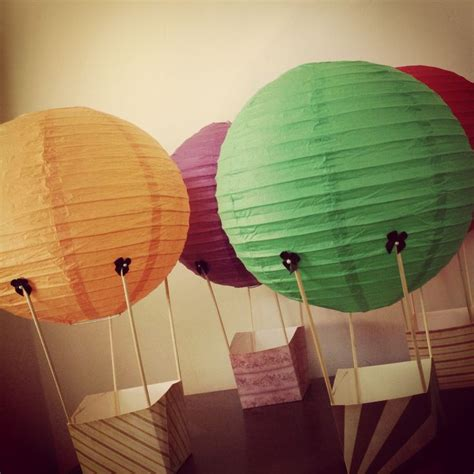 How To Make Paper Air Balloon Lantern - 17 best images about tea wizard of oz on