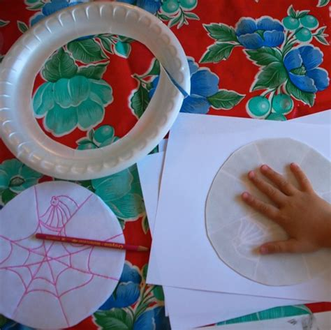How To Make Prints On Paper - styrofoam printmaking with tinkerlab