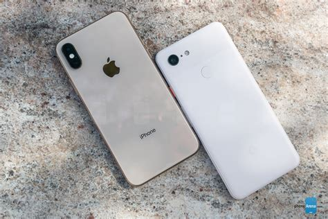 pixel 3 vs apple iphone xs phonearena
