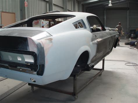 damians  ford mustang fastback eleanor project