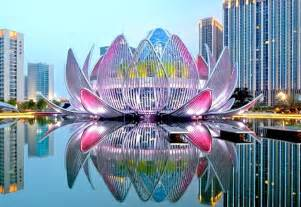 Build Lotus New Building In China Is Shaped Like A Lotus Flower