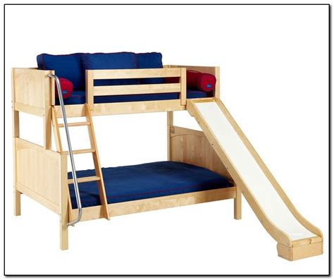 twin bed with slide twin over full bunk bed with slide beds home design
