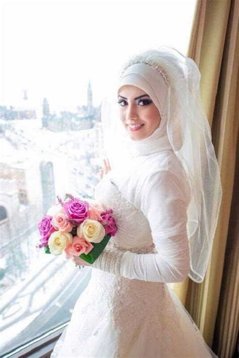 simple hijab tutorial for wedding bridal hijab 2014 simple hijab style collection my