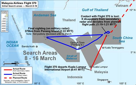 malaysian airlines flight 370 the complete timeline and search for malaysia airlines flight 370 wiki everipedia