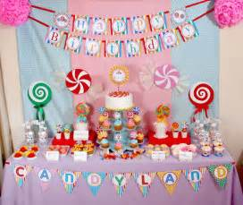 Candy Party Decorations Candy Land Birthday Party