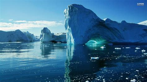 wallpaper of green land iceberg wallpapers wallpaper cave