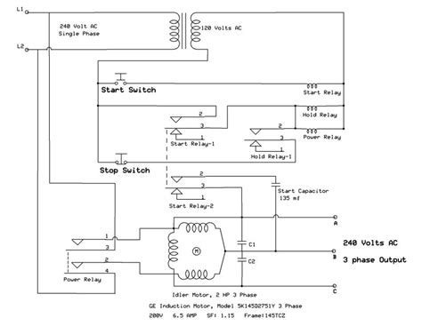 here are files rotary phase converter wiring diagram