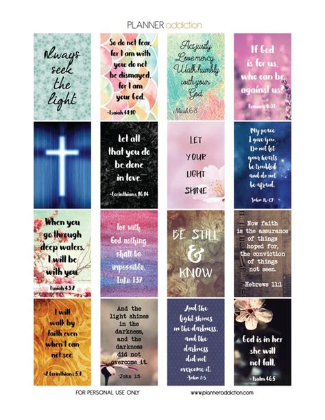 printable quotes planner happy planner printable planner and scriptures on pinterest