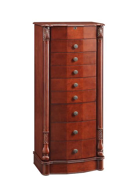sears armoire jewelry l powell rayford jewelry armoire