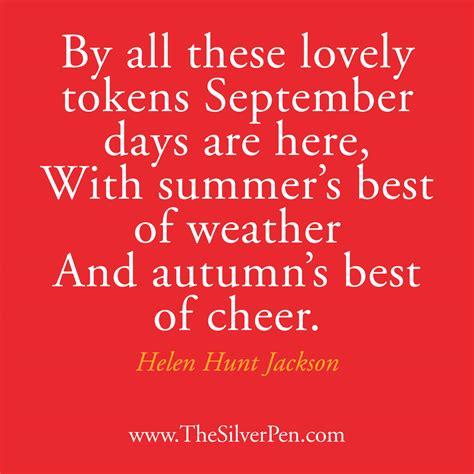 september 2012 happy life happy september helen hunt jackson the silver pen