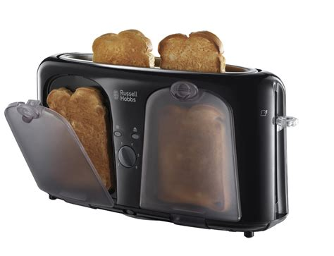 Russell Hobbs Toasters Russell Hobbs 19990 2 Slice Easy Toaster With Keep Warm