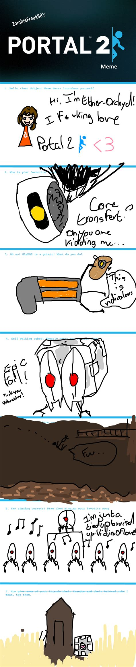 Meme With Two Pictures - portal 2 meme 2 by ether orchyd on deviantart