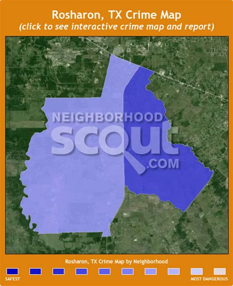 rosharon texas map rosharon crime rates and statistics neighborhoodscout