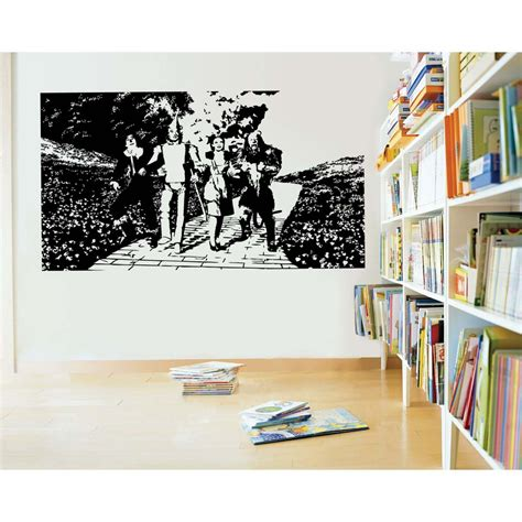 wizard of oz wall stickers wizard of oz yellow brick road vinyl wall sticker decal