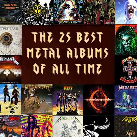 best metal bands the 25 best metal albums of all time udiscover