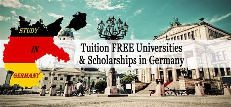 Mba In Germany Without Tuition Fees by 100 Tuition Free Study In Germany Scholarships To Meet