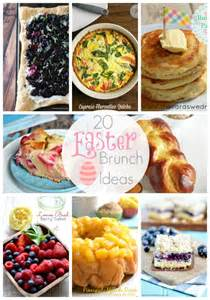20 easter brunch ideas link party features i heart nap