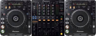 Concept audio cdj1000 dj amp pa sound package