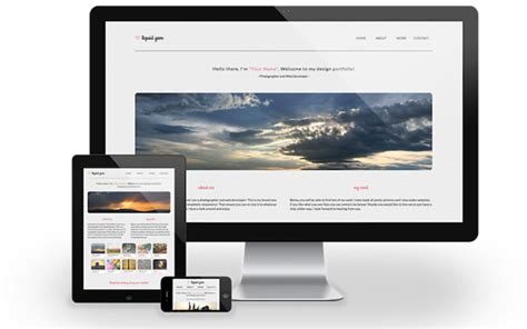 free responsive html css templates free responsive html css templates