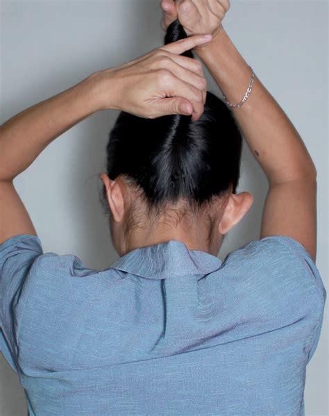 tutorial cepolan rambut pramugari cara membuat sanggul rambut pramugari cara buat sanggul