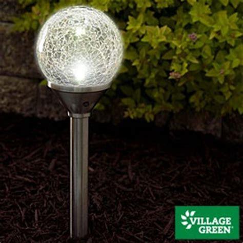Cracked Glass Solar Globe Light Home Ideas Pinterest Big Lots Solar Lights