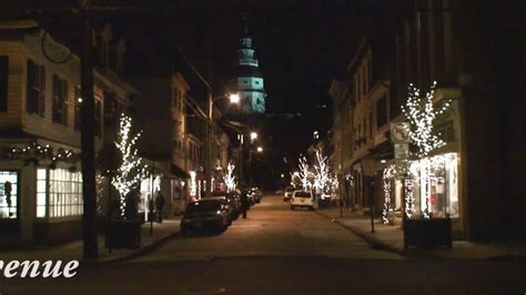 annapolis christmas lights december 2009 youtube