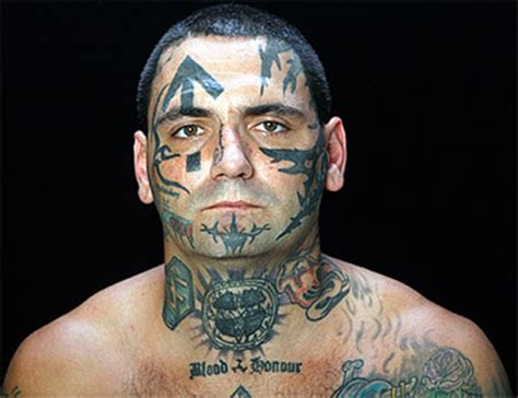 gang face tattoos 10 best designs