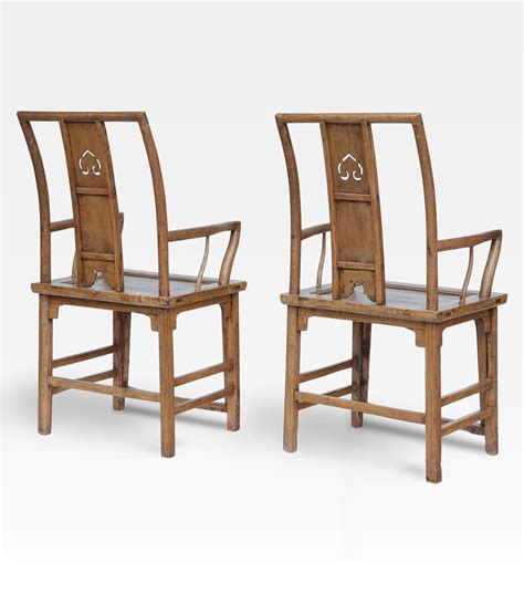 sedie cinesi coppia di sedie cinesi laccate legno di olmo cod 0008
