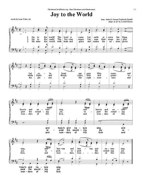 普世欢腾 (Joy to the World) 声乐,四重唱(女高、女低、男高、男低) - 乐谱