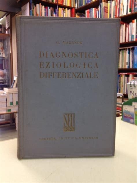 libreria medica firenze maranon diagnostica eziologia differenziale