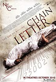 Chain Letter Soundtrack chain letter 2009 imdb