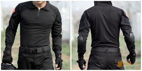 Baju Kaos Tactical Combat Shirt Bdu Abu Best Quality baju combat shirt suit tactical with import